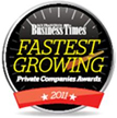 San Francisco Business Times - 2011 Fastest Growing Private Companies Award